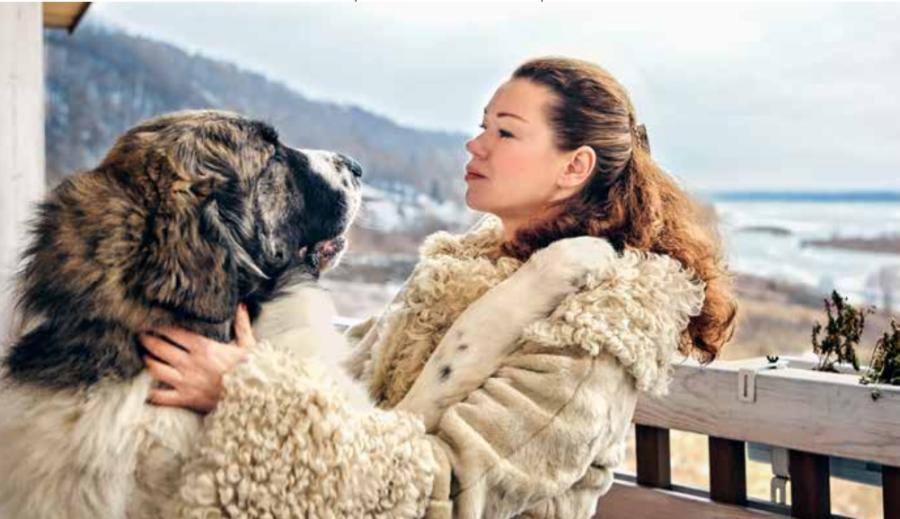Екатерина и пиренейский мастифБагратион